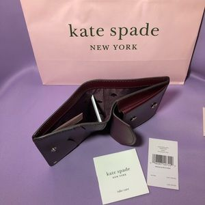 kate spade Accessories - 🎁Kate Spade Small Bifold Wallet Nadine Cherrywood